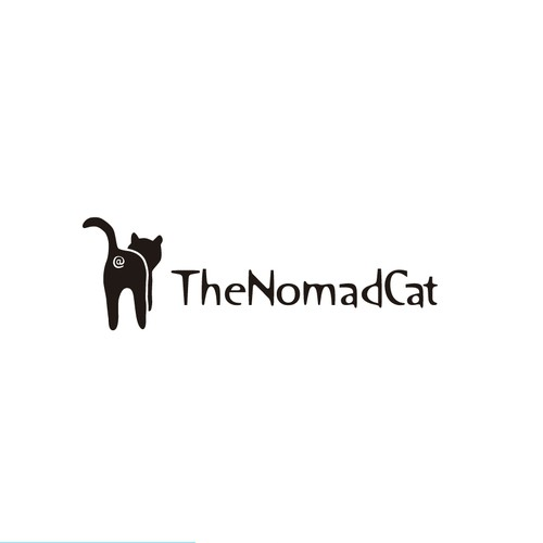 Logo for The Nomad Cat