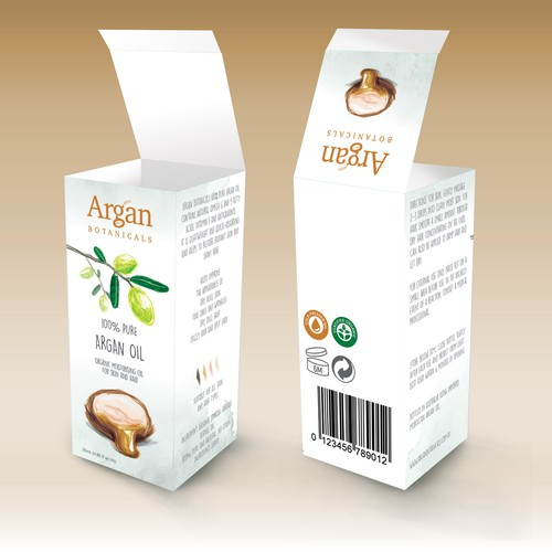 Logo and visual for packaging