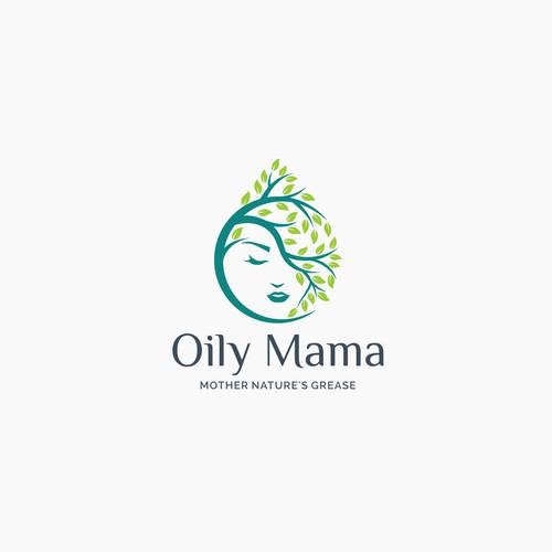 Design the Oily Mama logo.