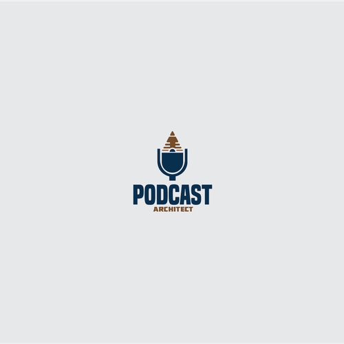 Logo for a podcast architect