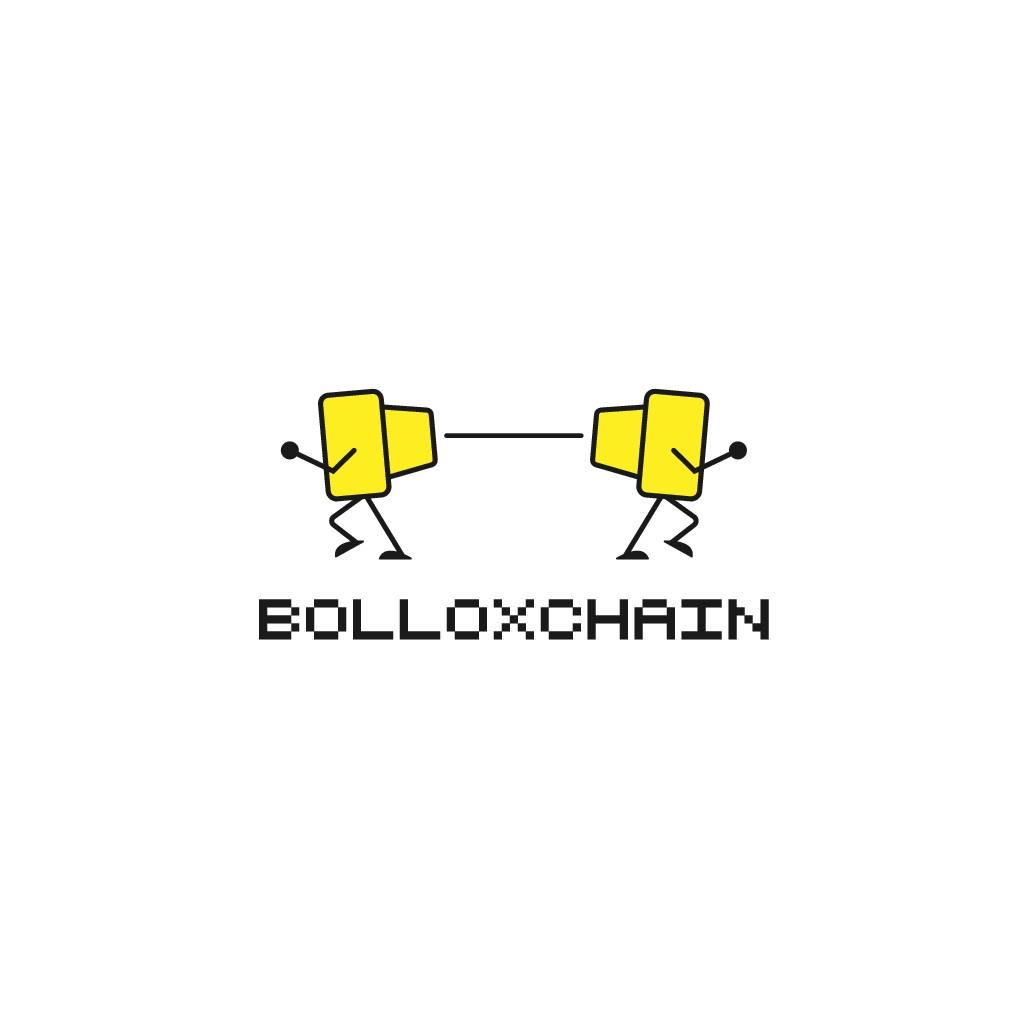 Bolloxchain blog needs a funny logo