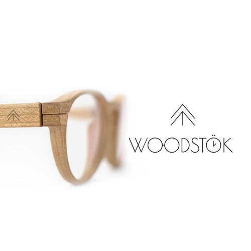Logo created for a wooden accessories & apparel company