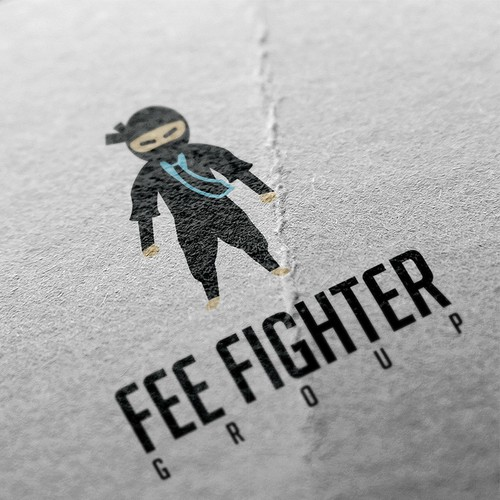 Logo for fee fighter