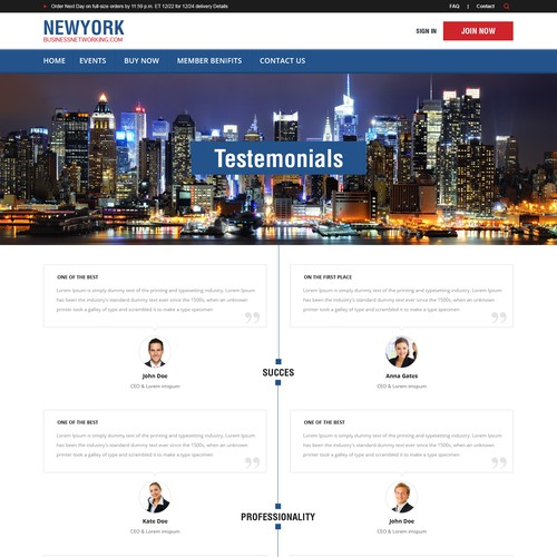 New York Business Networking Site