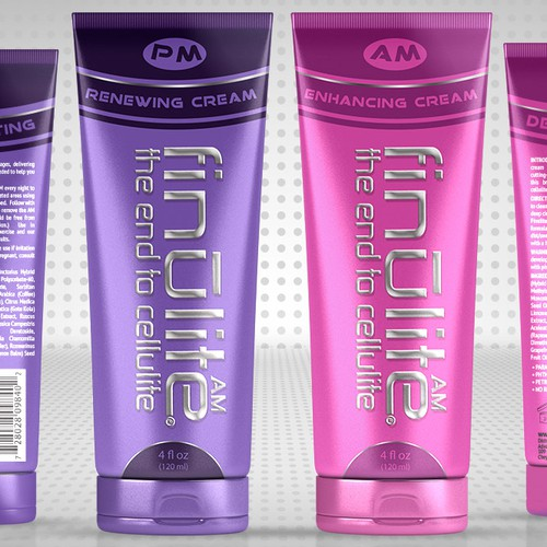 New packaging or label design for cellulite cream **Guaranteed**