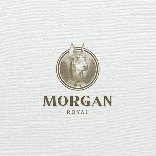 Diseño logo Morgan Royal
