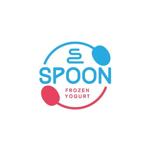 SPOON - Frozen Yogurt Logo