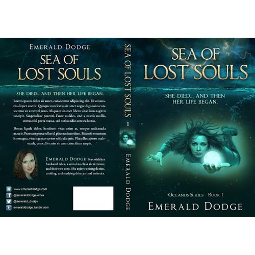 Cover for a nautical fantasy novel