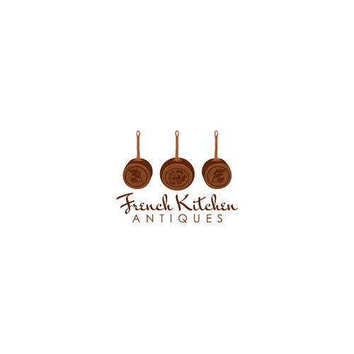 French Kitchen Antiques Needs an Elegant New Logo!