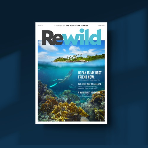 Magazine Cover for Rewild