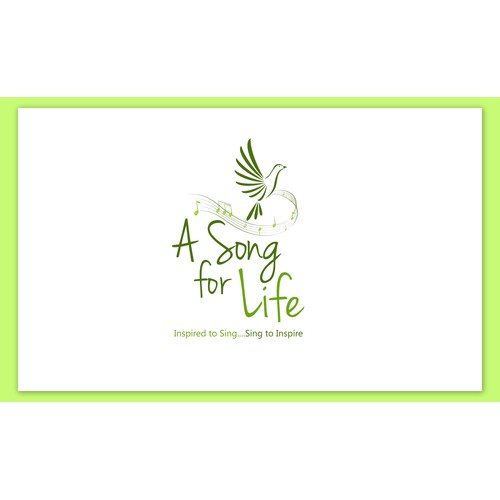 A Song for Life needs a new logo