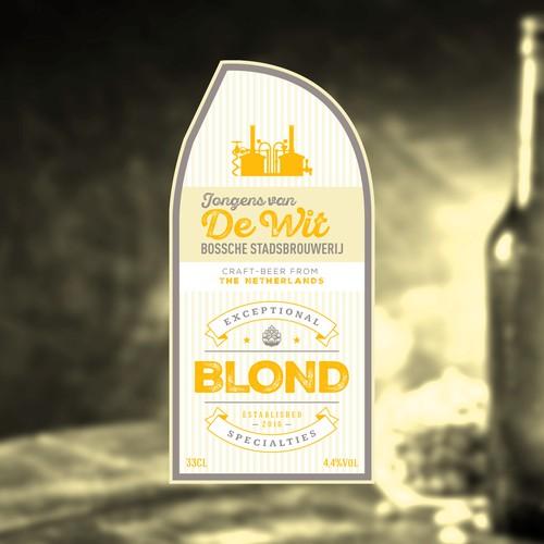 Bossche Stadsbrouwerij Jongens van De Wit