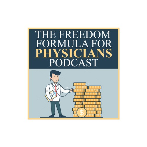 Podcast cover for a physician