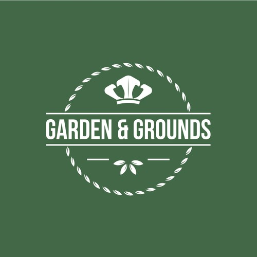 Logo design for garden & grounds.