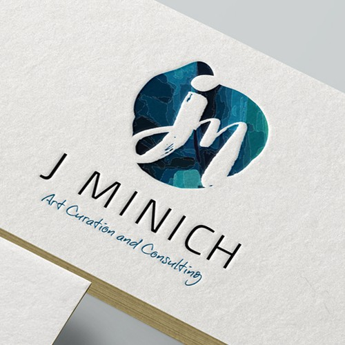 Logo design for an art professional