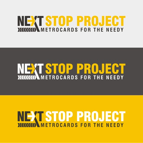 Create a logo for NYC transportation-focused non-profit 'NeXT Stop'
