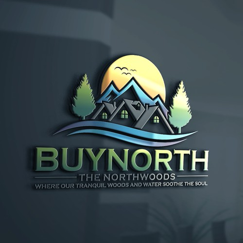 Buynorth.net real estate site needs a catchy and powerful logo