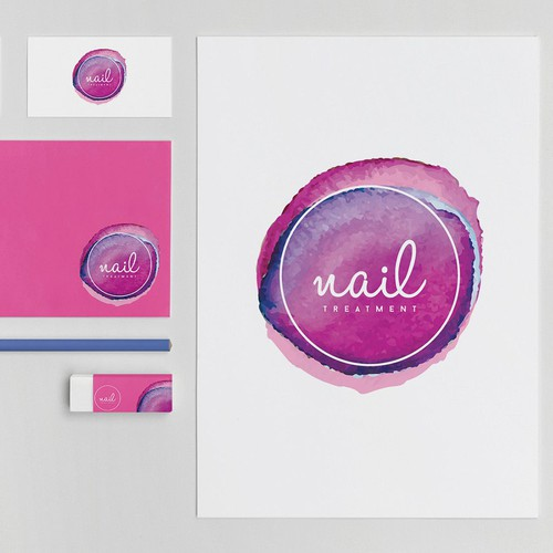 "Logo Design for ""Nail Spa"" My winning entry!"