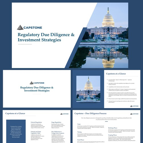 Powerpoint Template for Capstone