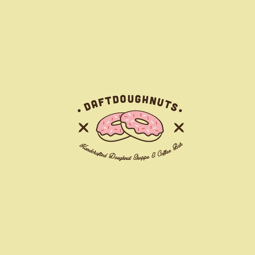 Logo concept for Craft Doughnut shoppe