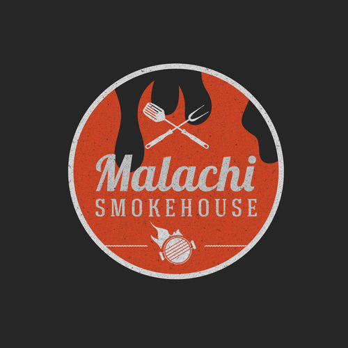 Malachi Smokehouse: Create logo for new family style barbecue restaurant with name based on Malachi 3:10.