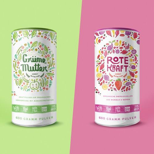 Organic Alpha : Branding/Packaging