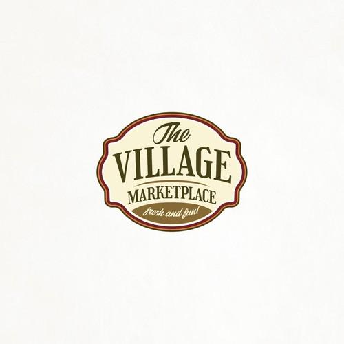Traditional fresh market logo