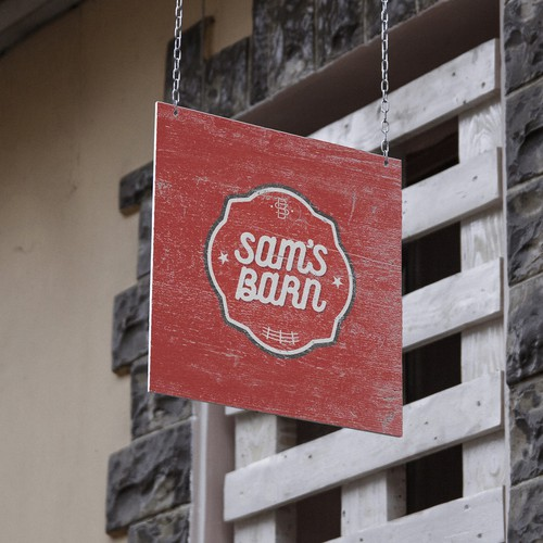 Wacky Logo For Sam's Barn