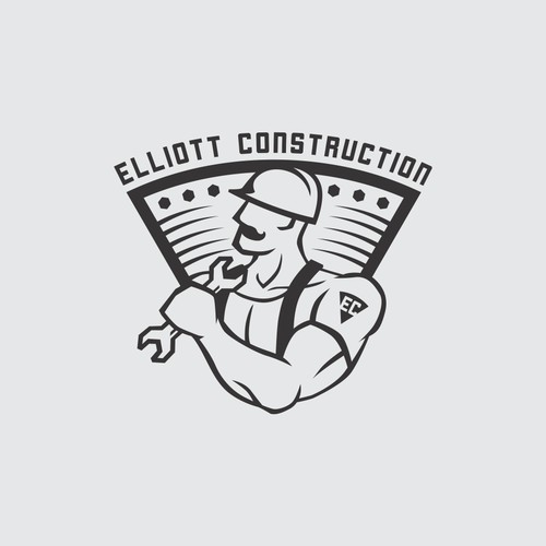 Manly illustrated logo