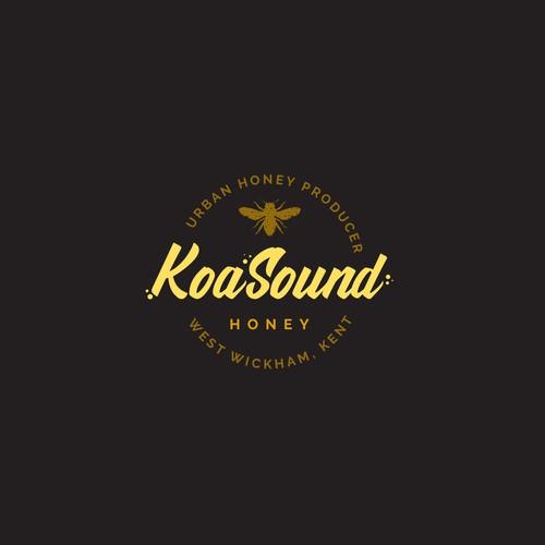 Logo for an Urban Honey producer