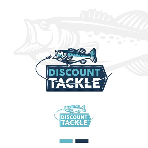 Logo concept for Discount Tackle