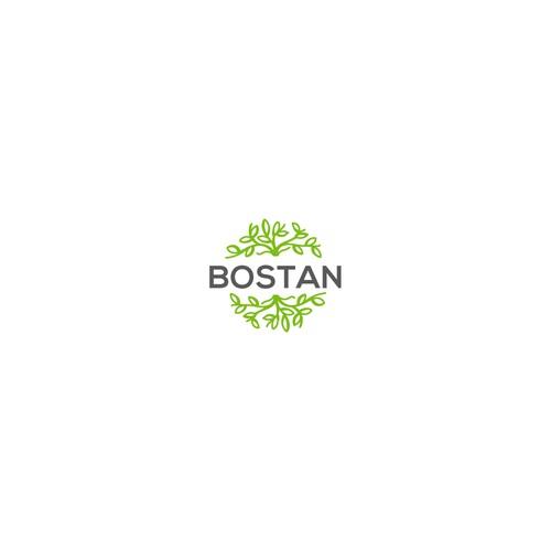 Logo concept for an Online Garden