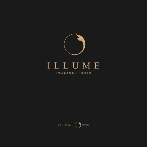 Create an elegant and timeless brand identity for Illume Imaging Studio.