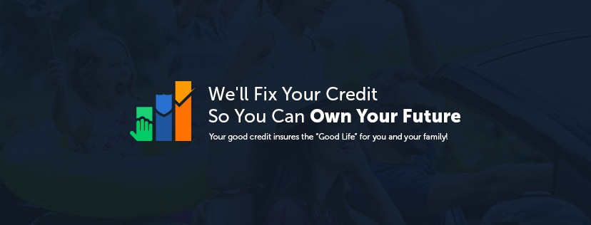 FB cover photo and mobile and tablet versions for creditrepairready.com website.