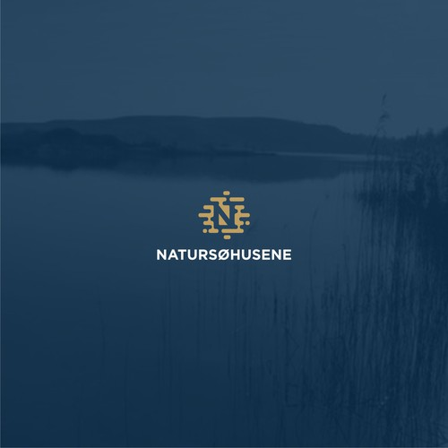 A logo for NATURSØHUSENE