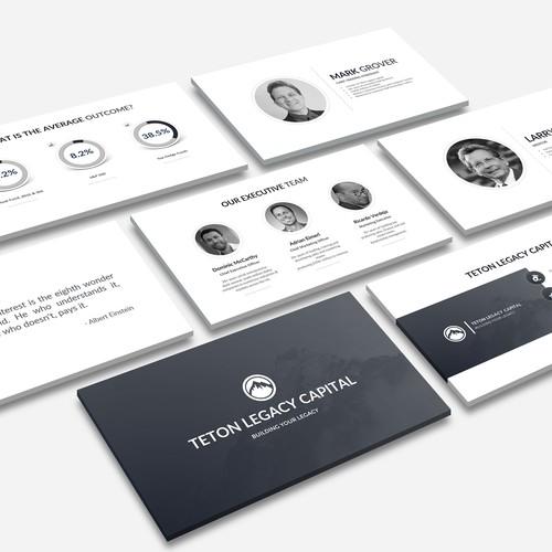 modern & clean business fund powerpoint presentation