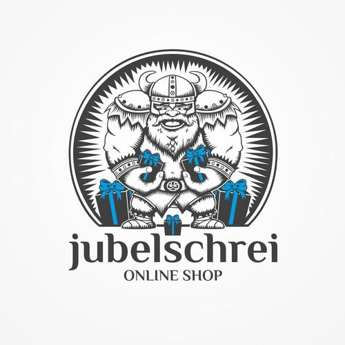 """Logo Concept für """"jubelschrei"""" (Online Shop))"""