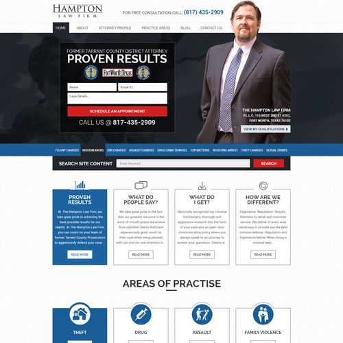 HAMTON Lawyer Website