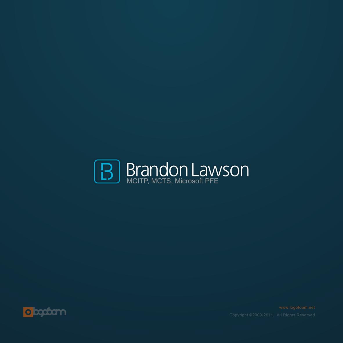 Help Brandon Lawson with a new logo