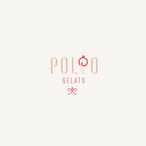 Logodesign for POLPO GELATO