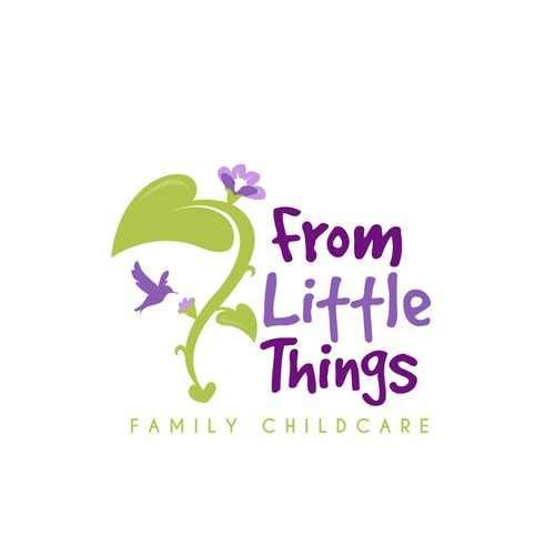 Logo concept for home based childcare service