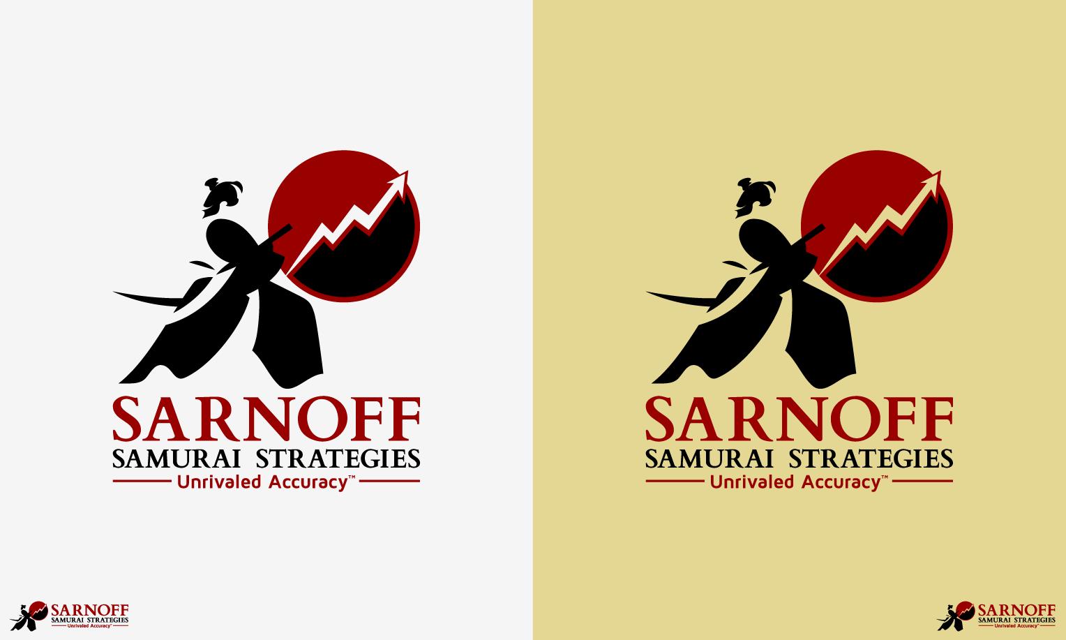 Create a winning logo design for Sarnoff's Samurai Strategies