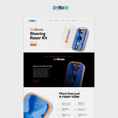 Dribiz Product Landing Page