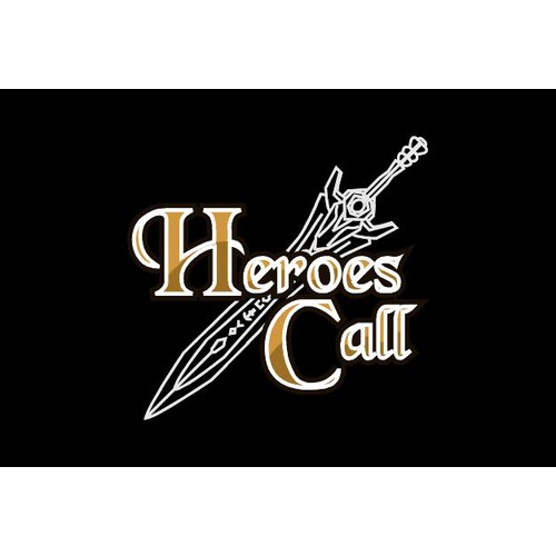 Heroes Call, a gritty fantasy game for mobile seeks logo.
