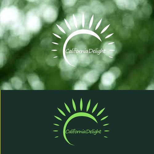 natural logo for food processor