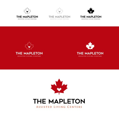 Logotype for the Mapleton