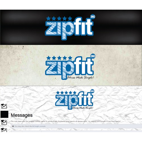 Help ZipFit360 with a new logo