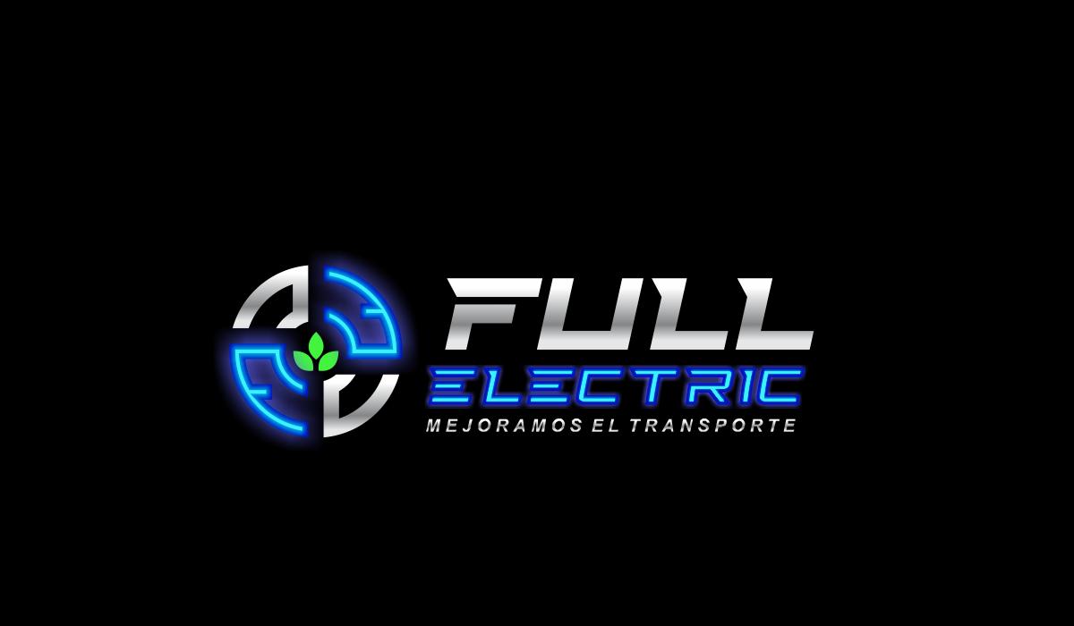 Un logo futurista para Full Electric