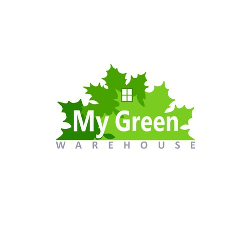 Logo concept for My Green Warehouse