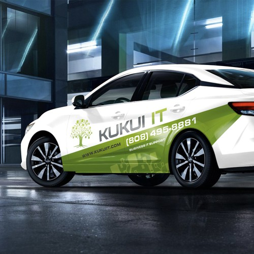 KuKu IT Vehicle logo wrap